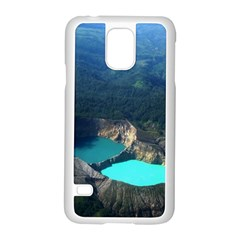 Kelimutu Crater Lakes  Indonesia Samsung Galaxy S5 Case (white)
