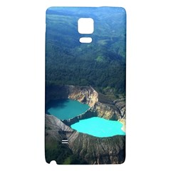 Kelimutu Crater Lakes  Indonesia Galaxy Note 4 Back Case