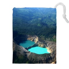 Kelimutu Crater Lakes  Indonesia Drawstring Pouches (xxl)