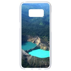 Kelimutu Crater Lakes  Indonesia Samsung Galaxy S8 White Seamless Case