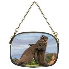 Komodo Dragons Fight Chain Purses (two Sides)