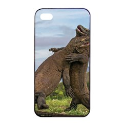 Komodo Dragons Fight Apple Iphone 4/4s Seamless Case (black)
