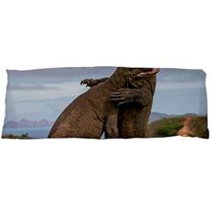 Komodo Dragons Fight Body Pillow Case (dakimakura)