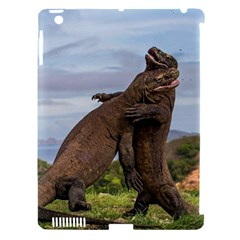 Komodo Dragons Fight Apple Ipad 3/4 Hardshell Case (compatible With Smart Cover)