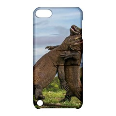 Komodo Dragons Fight Apple Ipod Touch 5 Hardshell Case With Stand