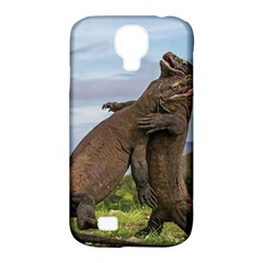 Komodo Dragons Fight Samsung Galaxy S4 Classic Hardshell Case (pc+silicone)