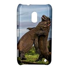 Komodo Dragons Fight Nokia Lumia 620