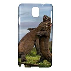 Komodo Dragons Fight Samsung Galaxy Note 3 N9005 Hardshell Case