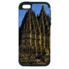 Prambanan Temple Apple Iphone 5 Hardshell Case (pc+silicone)