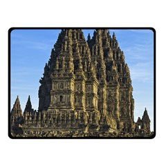 Prambanan Temple Double Sided Fleece Blanket (small)