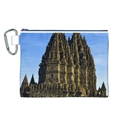 Prambanan Temple Canvas Cosmetic Bag (l)