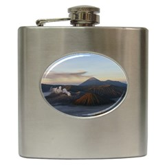 Sunrise Mount Bromo Tengger Semeru National Park  Indonesia Hip Flask (6 Oz)