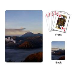 Sunrise Mount Bromo Tengger Semeru National Park  Indonesia Playing Card