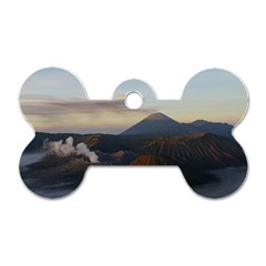 Sunrise Mount Bromo Tengger Semeru National Park  Indonesia Dog Tag Bone (one Side)