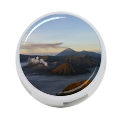 Sunrise Mount Bromo Tengger Semeru National Park  Indonesia 4 Port Usb Hub (one Side)