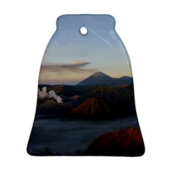 Sunrise Mount Bromo Tengger Semeru National Park  Indonesia Bell Ornament (two Sides)