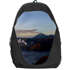 Sunrise Mount Bromo Tengger Semeru National Park  Indonesia Backpack Bag