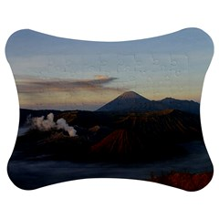 Sunrise Mount Bromo Tengger Semeru National Park  Indonesia Jigsaw Puzzle Photo Stand (bow)