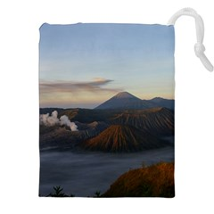 Sunrise Mount Bromo Tengger Semeru National Park  Indonesia Drawstring Pouches (xxl)