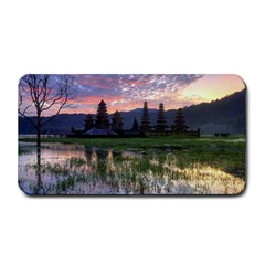 Tamblingan Morning Reflection Tamblingan Lake Bali  Indonesia Medium Bar Mats