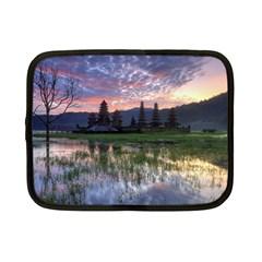 Tamblingan Morning Reflection Tamblingan Lake Bali  Indonesia Netbook Case (small)