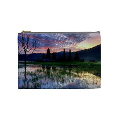 Tamblingan Morning Reflection Tamblingan Lake Bali  Indonesia Cosmetic Bag (medium)