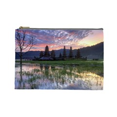 Tamblingan Morning Reflection Tamblingan Lake Bali  Indonesia Cosmetic Bag (large)