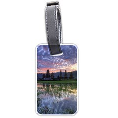 Tamblingan Morning Reflection Tamblingan Lake Bali  Indonesia Luggage Tags (two Sides)