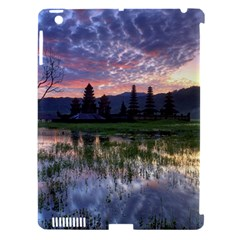 Tamblingan Morning Reflection Tamblingan Lake Bali  Indonesia Apple Ipad 3/4 Hardshell Case (compatible With Smart Cover)