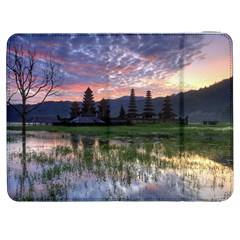 Tamblingan Morning Reflection Tamblingan Lake Bali  Indonesia Samsung Galaxy Tab 7  P1000 Flip Case