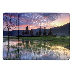 Tamblingan Morning Reflection Tamblingan Lake Bali  Indonesia Samsung Galaxy Tab 10 1  P7500 Flip Case