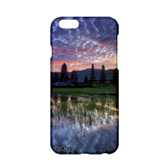 Tamblingan Morning Reflection Tamblingan Lake Bali  Indonesia Apple Iphone 6/6s Hardshell Case
