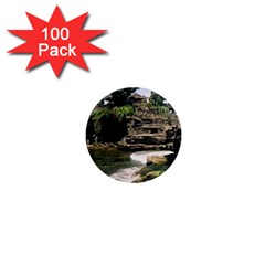 Tanah Lot Bali Indonesia 1  Mini Magnets (100 Pack)