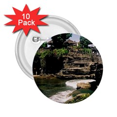 Tanah Lot Bali Indonesia 2 25  Buttons (10 Pack)