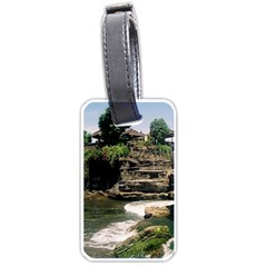 Tanah Lot Bali Indonesia Luggage Tags (two Sides)