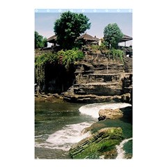 Tanah Lot Bali Indonesia Shower Curtain 48  X 72  (small)