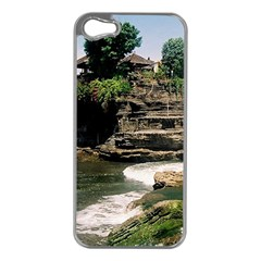 Tanah Lot Bali Indonesia Apple Iphone 5 Case (silver)