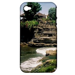 Tanah Lot Bali Indonesia Apple Iphone 4/4s Hardshell Case (pc+silicone)