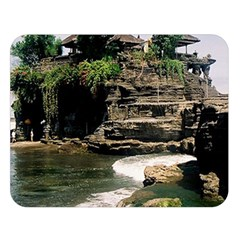 Tanah Lot Bali Indonesia Double Sided Flano Blanket (large)