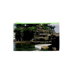 Tanah Lot Bali Indonesia Cosmetic Bag (xs)