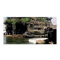 Tanah Lot Bali Indonesia Satin Wrap