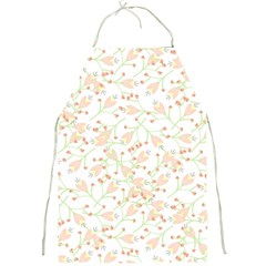 Small Floral Flowers Pattern  Full Print Aprons