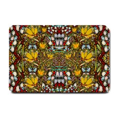 Fantasy Forest And Fantasy Plumeria In Peace Small Doormat