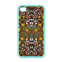 Fantasy Forest And Fantasy Plumeria In Peace Apple Iphone 4 Case (color)