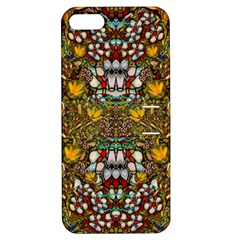 Fantasy Forest And Fantasy Plumeria In Peace Apple Iphone 5 Hardshell Case With Stand