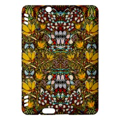 Fantasy Forest And Fantasy Plumeria In Peace Kindle Fire Hdx Hardshell Case