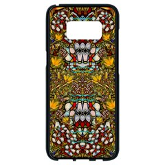 Fantasy Forest And Fantasy Plumeria In Peace Samsung Galaxy S8 Black Seamless Case