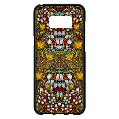 Fantasy Forest And Fantasy Plumeria In Peace Samsung Galaxy S8 Plus Black Seamless Case