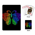 Rainbow butterfly  Playing Card Back