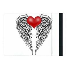 Angel Heart Tattoo Apple Ipad Pro 10 5   Flip Case